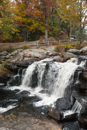 chapman: Chapman Falls, centerpiece of Devils Hopyard State Park in East Haddam, Connecticut