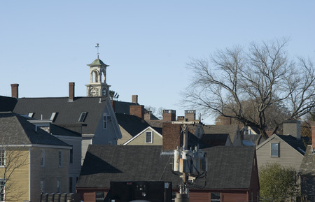 portsmouth: Residential skyline in Portsmouth, New Hampshire