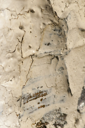 Uneven surface of old wall showing cracks and dirt Stock fotó