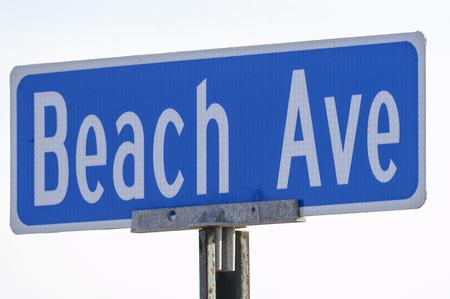 Teken van de straat biedt aanwijzing voor de huidige locatie