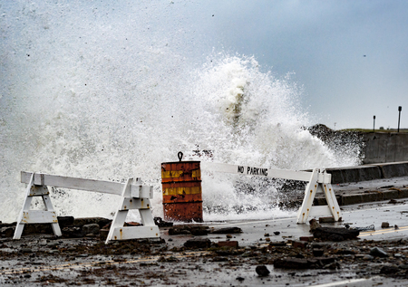 adds: Exploding wave adds to storm damage on Ocean Drive