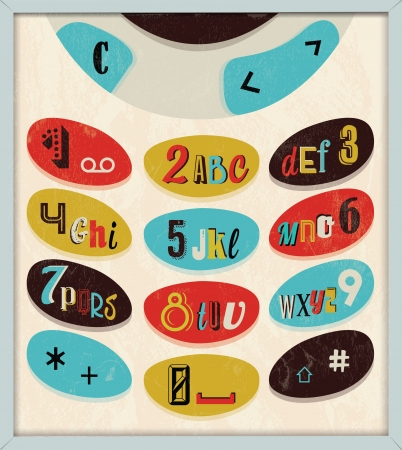 Various Retro Vintage Typography Collection  For High Quality Graphic Projects Illustration