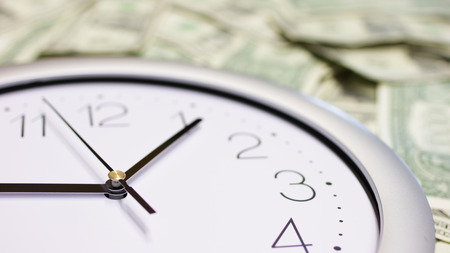 Time is money. Imagens