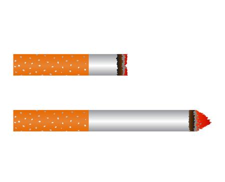 Smoldering Cigarette Set.