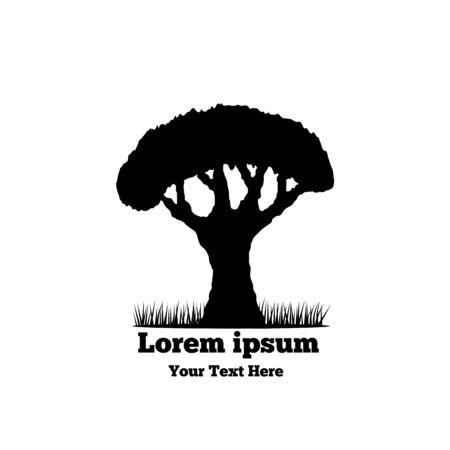 Tree silhouette logo