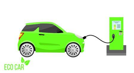 Green Eco Car Charging