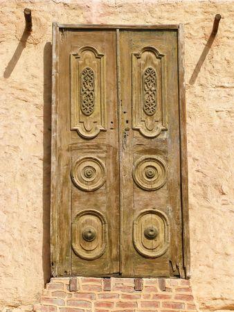 Old orient doors, Marsa Alam, Egypt, Africa Stock Photo - 5069880