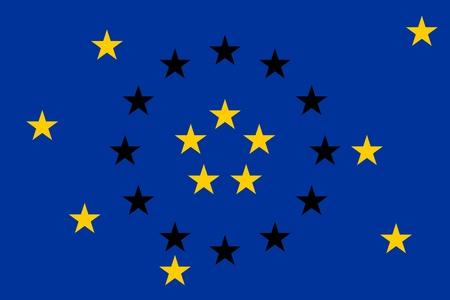 einsturz: Der Zusammenbruch der Europ�ischen Union Illustration