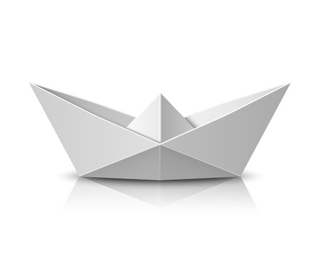 toy boat: Origami boat