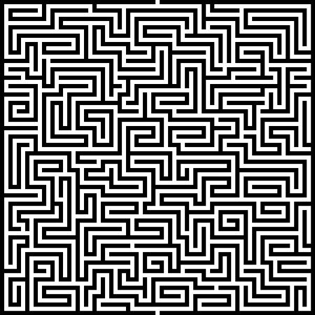 Maze background Ilustração