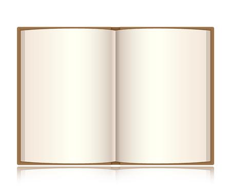 Open book Ilustração