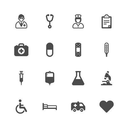 Medical icons Ilustração