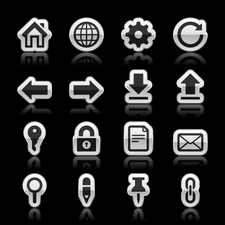 Website icons, vector illustration