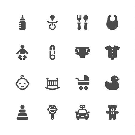 teteros: Iconos del bebé