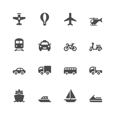 small boat: Transportation icons