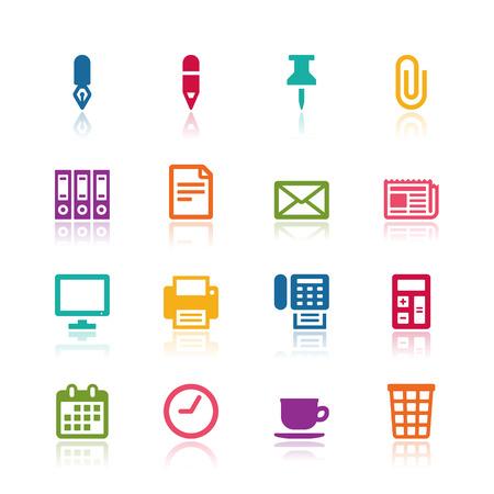 Office icons Ilustração