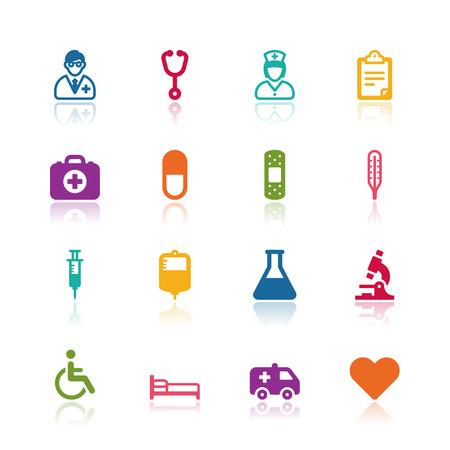 Medical icons Illustration