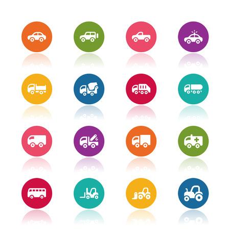 Car icons Imagens - 35926714