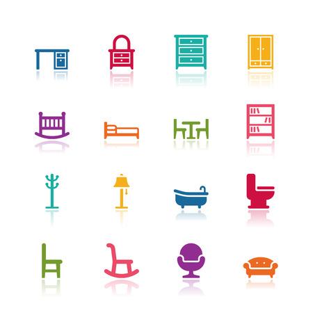 Furniture icons Imagens - 35926716