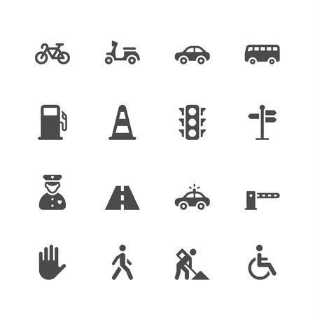 pedestrian: Traffic icons