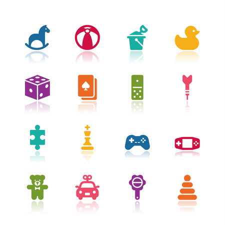 Toy icons Imagens - 43677145