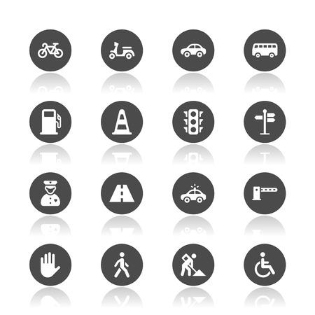 Traffic icons