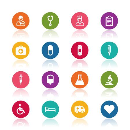 letti: Icone mediche