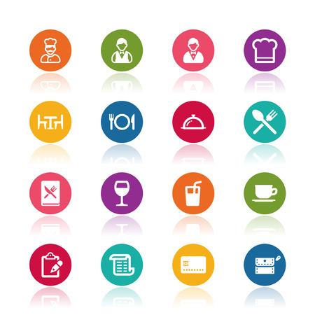 icons: Restaurant icons