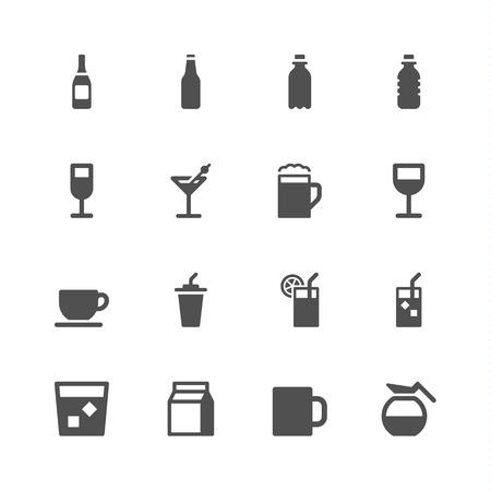 vaso de jugo: Beber iconos