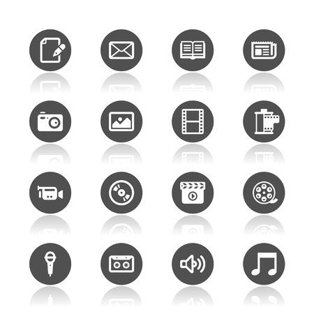 photo icon: Media icons