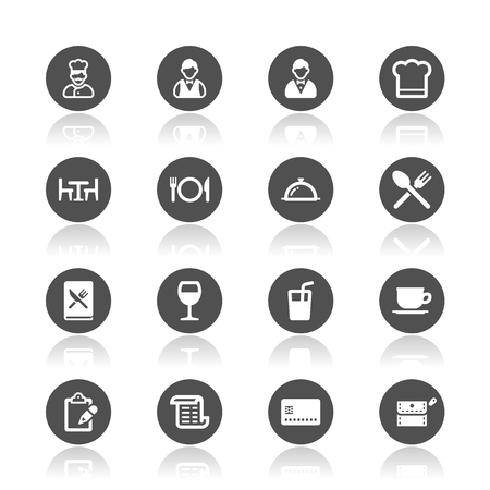 Restaurant icons