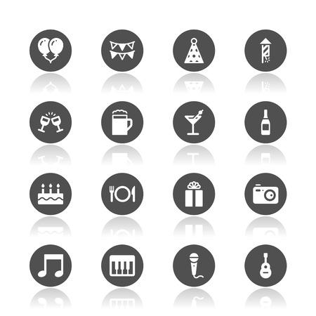 Celebration icons Imagens - 49116855
