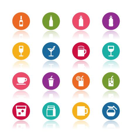 bebidas frias: Beber iconos