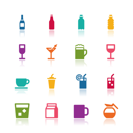 cold drinks: Drink icons