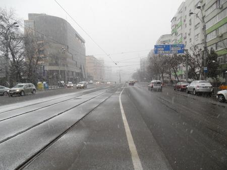 bucarest: Dur d 'hiver � Bucarest