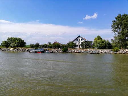The Danube Delta. Sulina Arm.