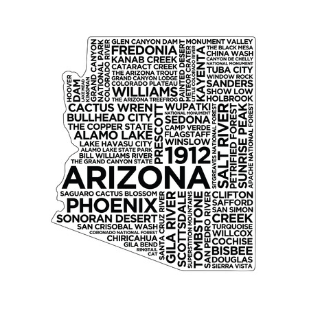 Arizona State Typography
