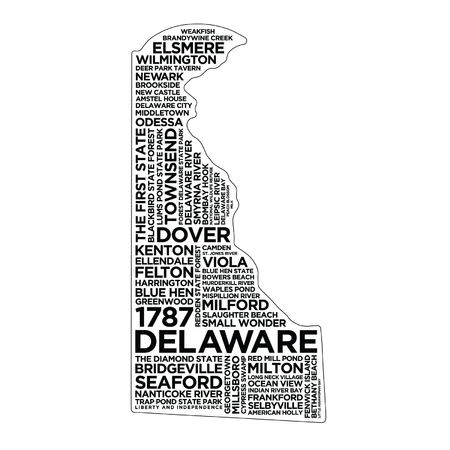 Delaware State Typography