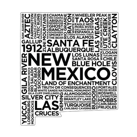 New Mexico State Typography