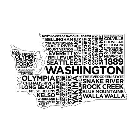 Washington State Typography
