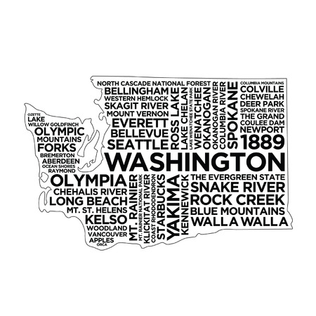 Washington State Typography