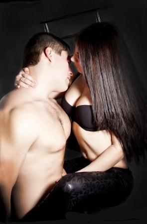 uomini nudi: Appassionati amanti fanno sesso in bagno