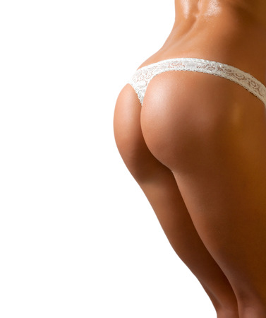 FEMALE SEXY BUTTOCKS IN LINGERIE