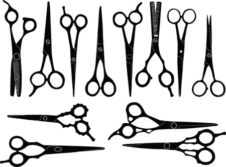scissors - vector