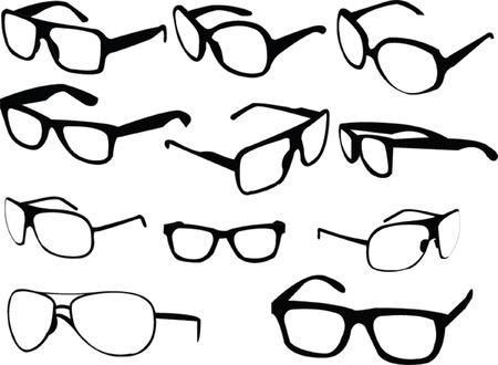 collezione di occhiali da sole 2 - vector