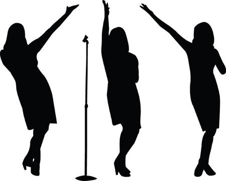 singers - vector