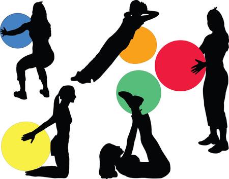 Fitness - Vektor Vektorgrafik