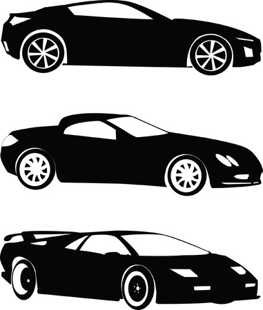cars collection - vector Stock Vector - 5073429
