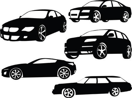 autos de colección 2 - vector