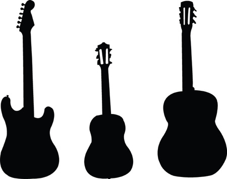 guitars collection - vector Vector